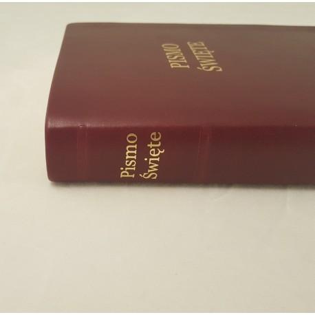 Biblia UBG F2 Skóra miękka, bordo