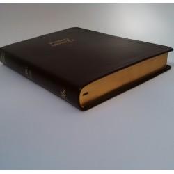 Biblia UBG F3 Skóra miękka, brąz