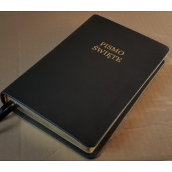 Biblia UBG F2 Skóra twarda, czarna