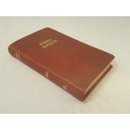 Biblia UBG F2 Skóra miękka, findik