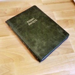 Biblia UBG F2 Skóra miękka, zamek, indeksy, laguna (Grubszy papier)
